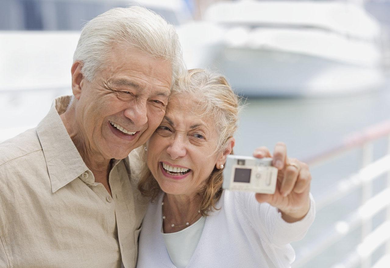 Pareja de ancianos del Blog La alegría de envejecer